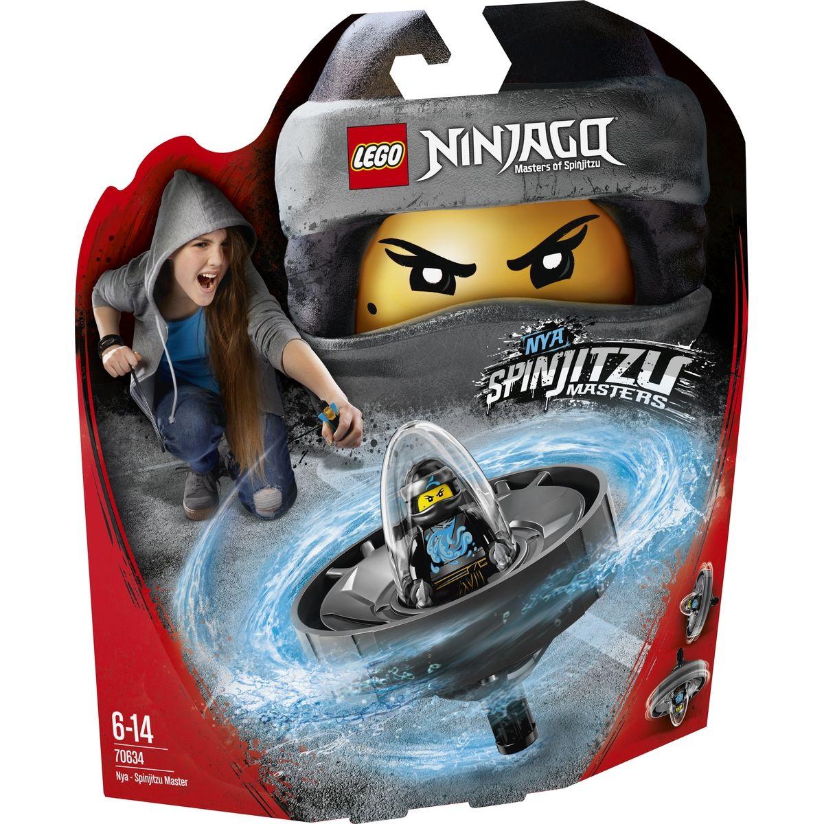 LEGO Ninjago 70634 Nya Mistryně Spinjitzu