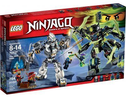 LEGO Ninjago 70737 Bitva s titánskými roboty