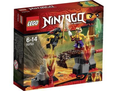 LEGO Ninjago 70753 - Lávové vodopády
