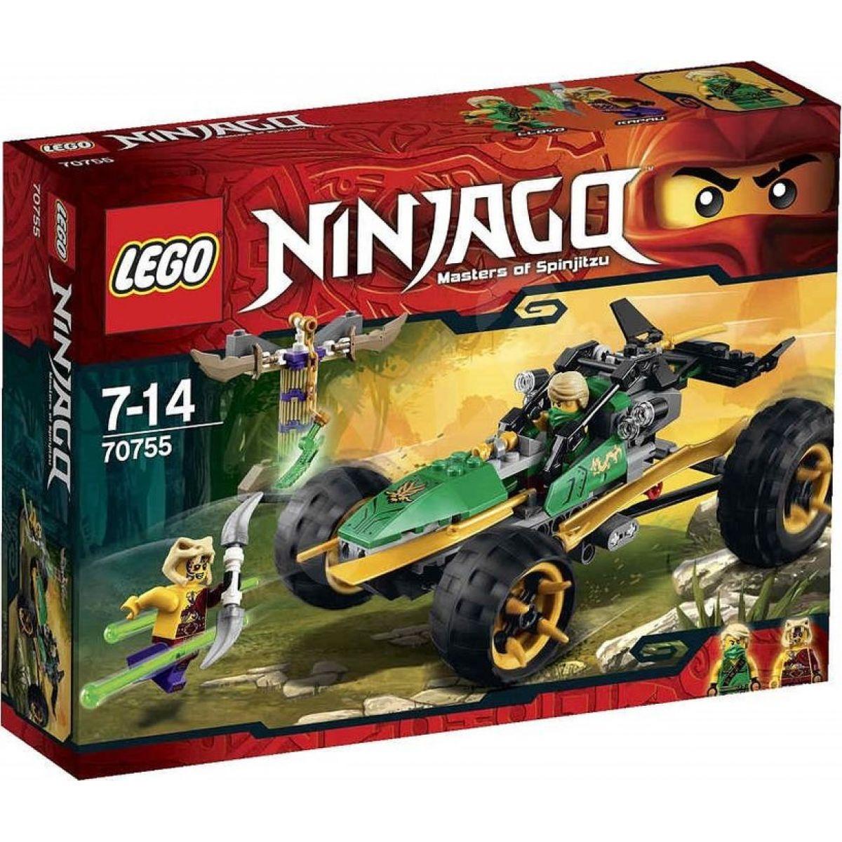 LEGO Ninjago 70755 Bugina do džungle - Poškozený obal