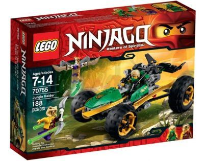 LEGO Ninjago 70755 - Bugina do džungle
