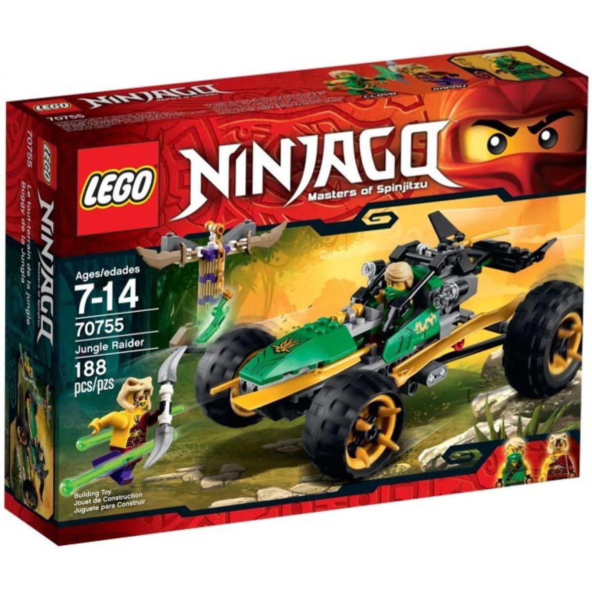 LEGO Ninjago 70755 - Bugina do džungle