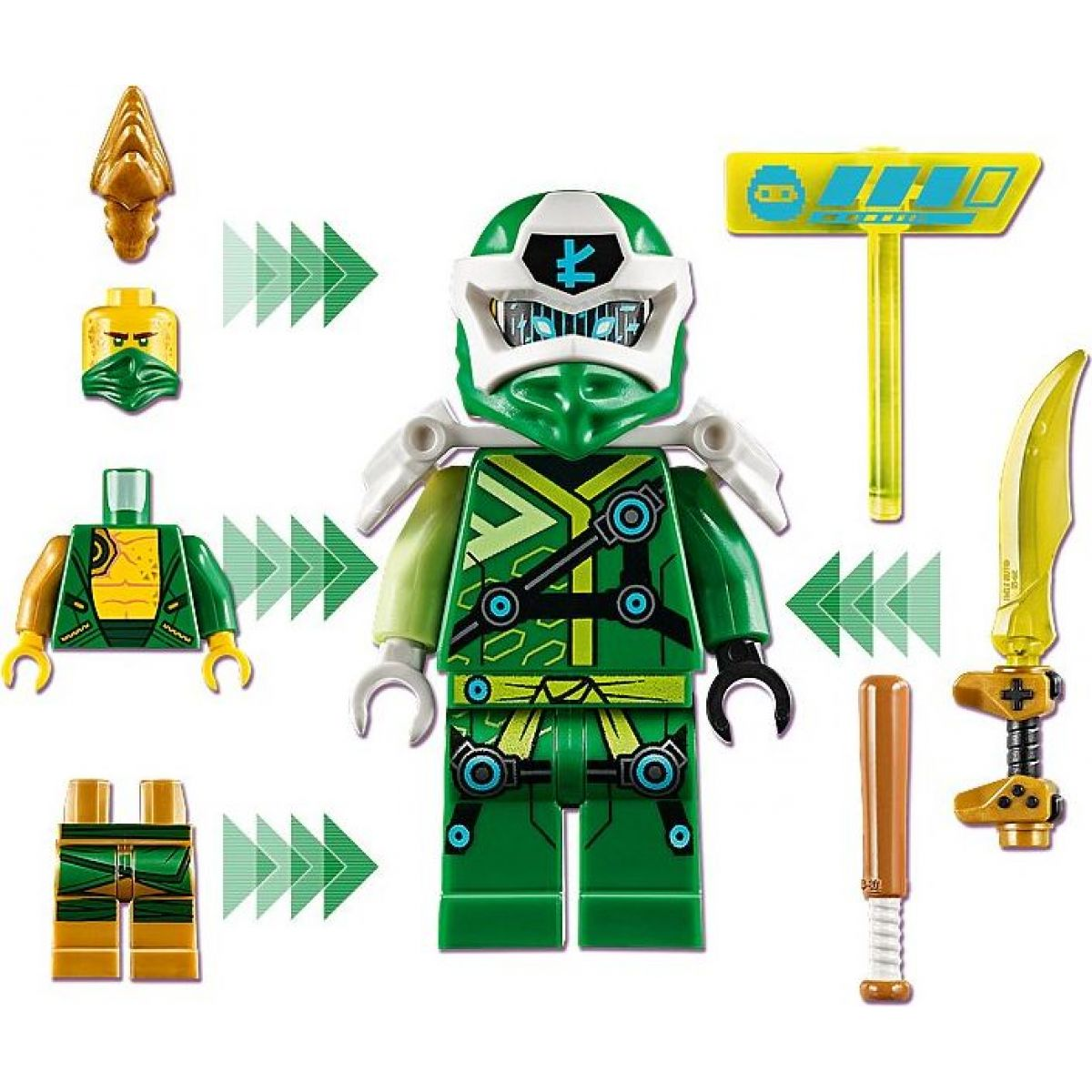 LEGO Ninjago 71716 Lloydův avatar Arkádový automat