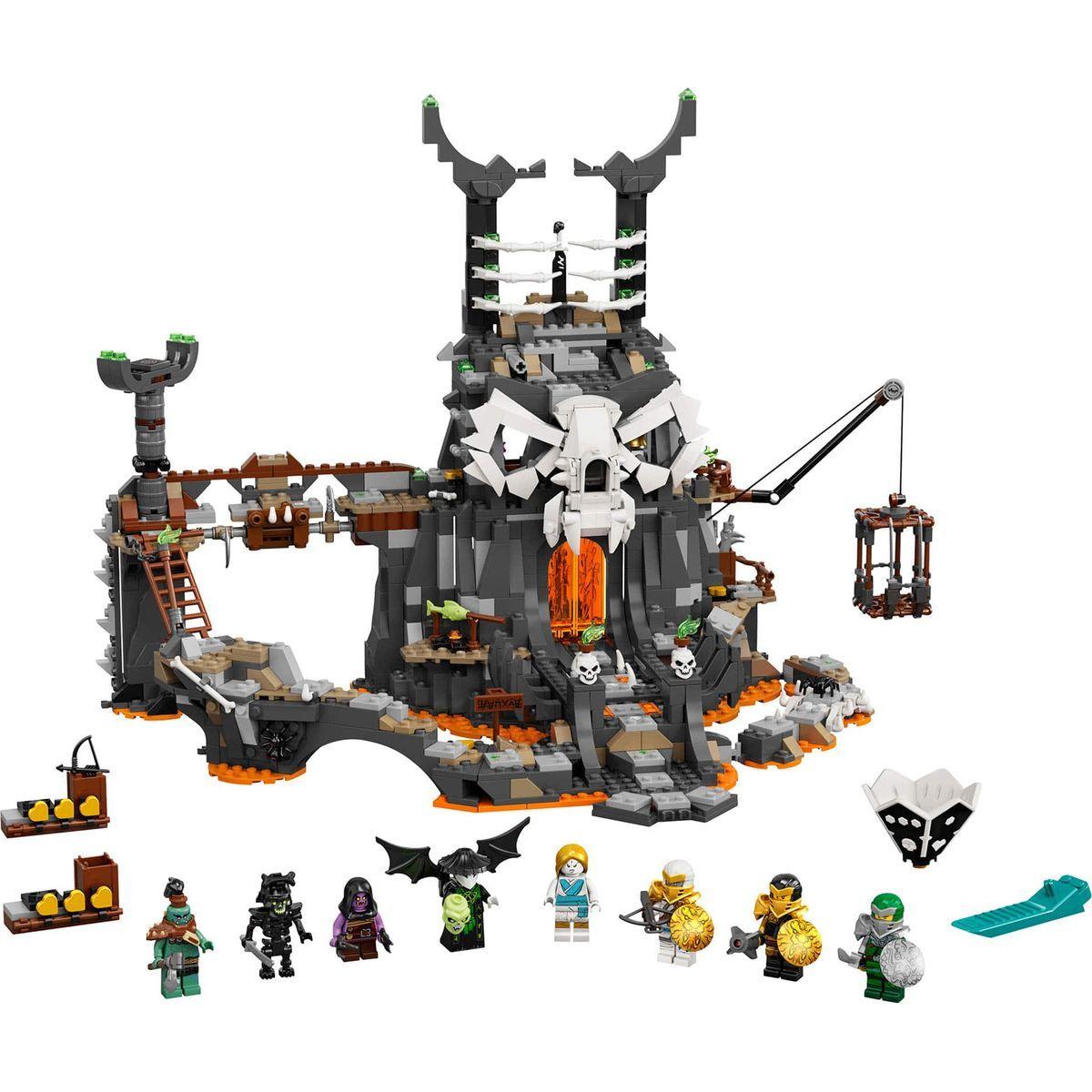 LEGO Ninjago 71722 Kobky Čaroděje lebek