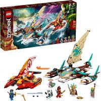 LEGO® NINJAGO® 71748 Námorná bitka s katamaránom