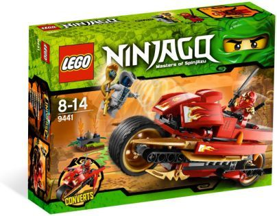 LEGO NINJAGO 9441 Kaiova motorka s čepelemi