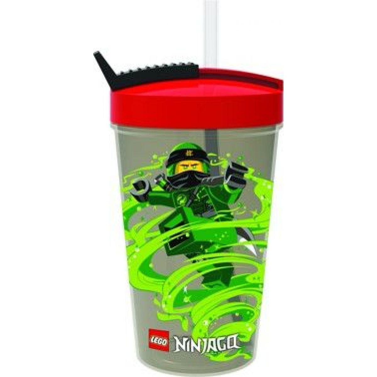 LEGO láhev s brčkem - Ninjago 500ml