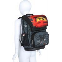 LEGO Ninjago KAI of Fire Maxi školní aktovka 2 dílný set 4