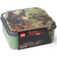 LEGO Ninjago Movie box na svačinu army zelená