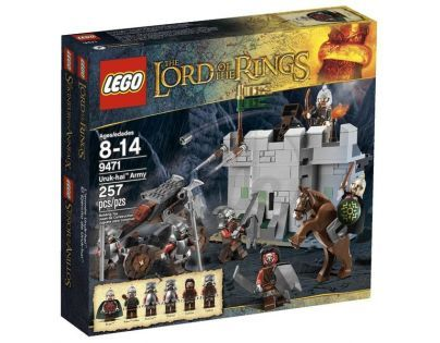 LEGO Lord of the Rings 9471 Armáda Uruk-hai™