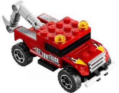 LEGO RACERS 8195 Turbo tahač
