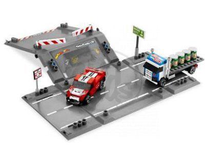 LEGO RACERS 8198 Havárie na rampě