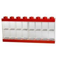 LEGO Sběratelská skříňka na 16 minifigurek Červená