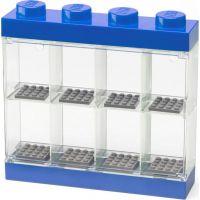 LEGO Sběratelská skříňka na 8 minifigurek modrá