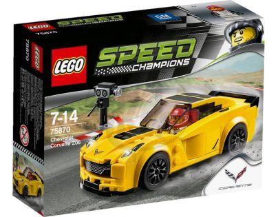 LEGO Speed Champions 75870 Chevrolet Corvette Z06