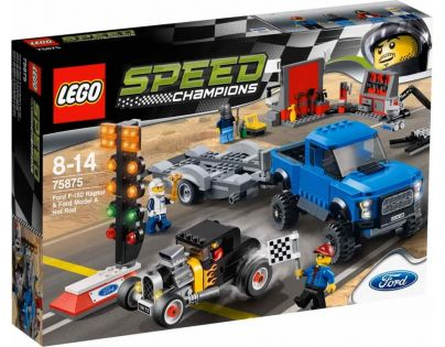 LEGO Speed Champions 75875 Ford F-150 Raptor a Ford Model A Hot Ro