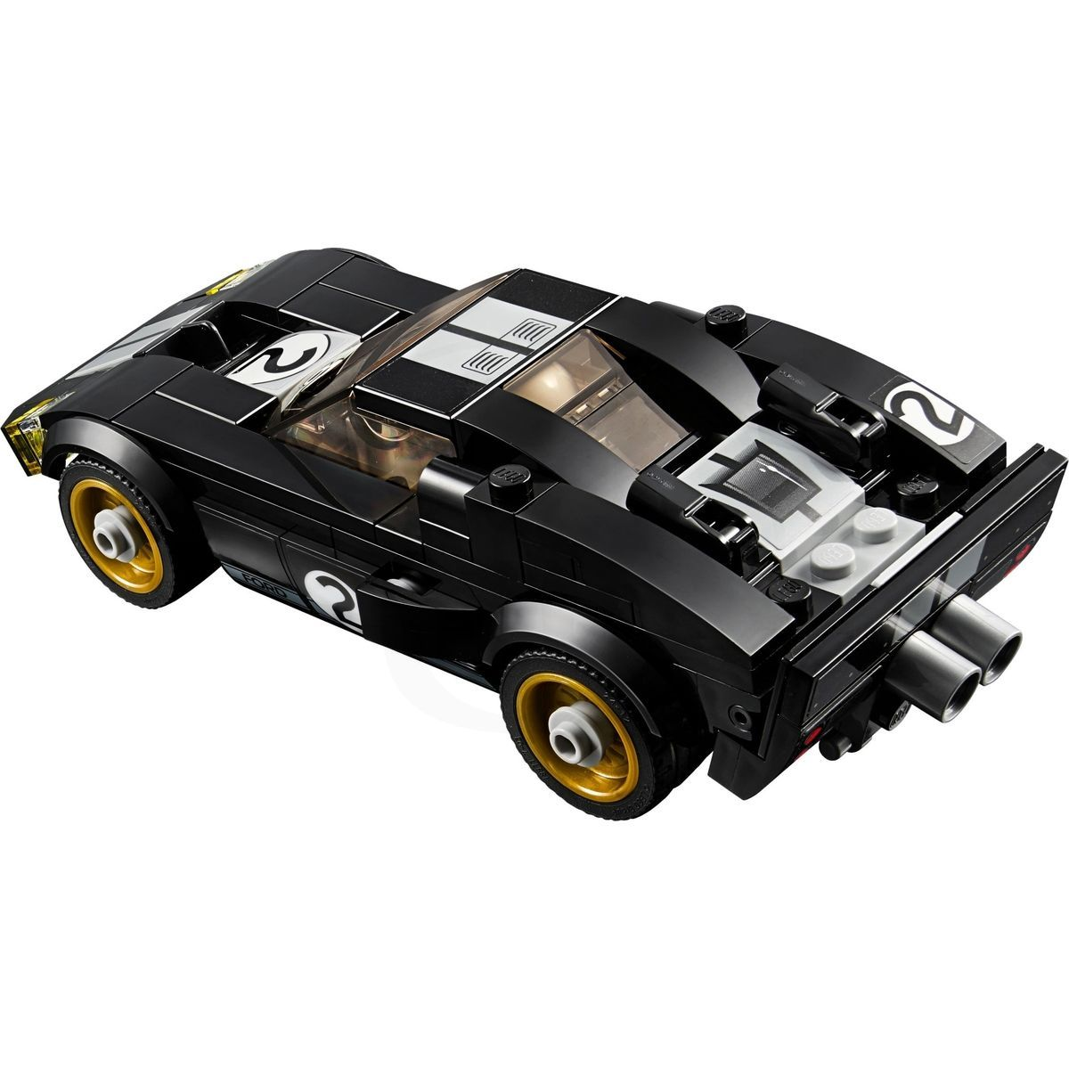 lego speed champions 75881 2016 ford gt 1966 ford gt40 4kids. Black Bedroom Furniture Sets. Home Design Ideas