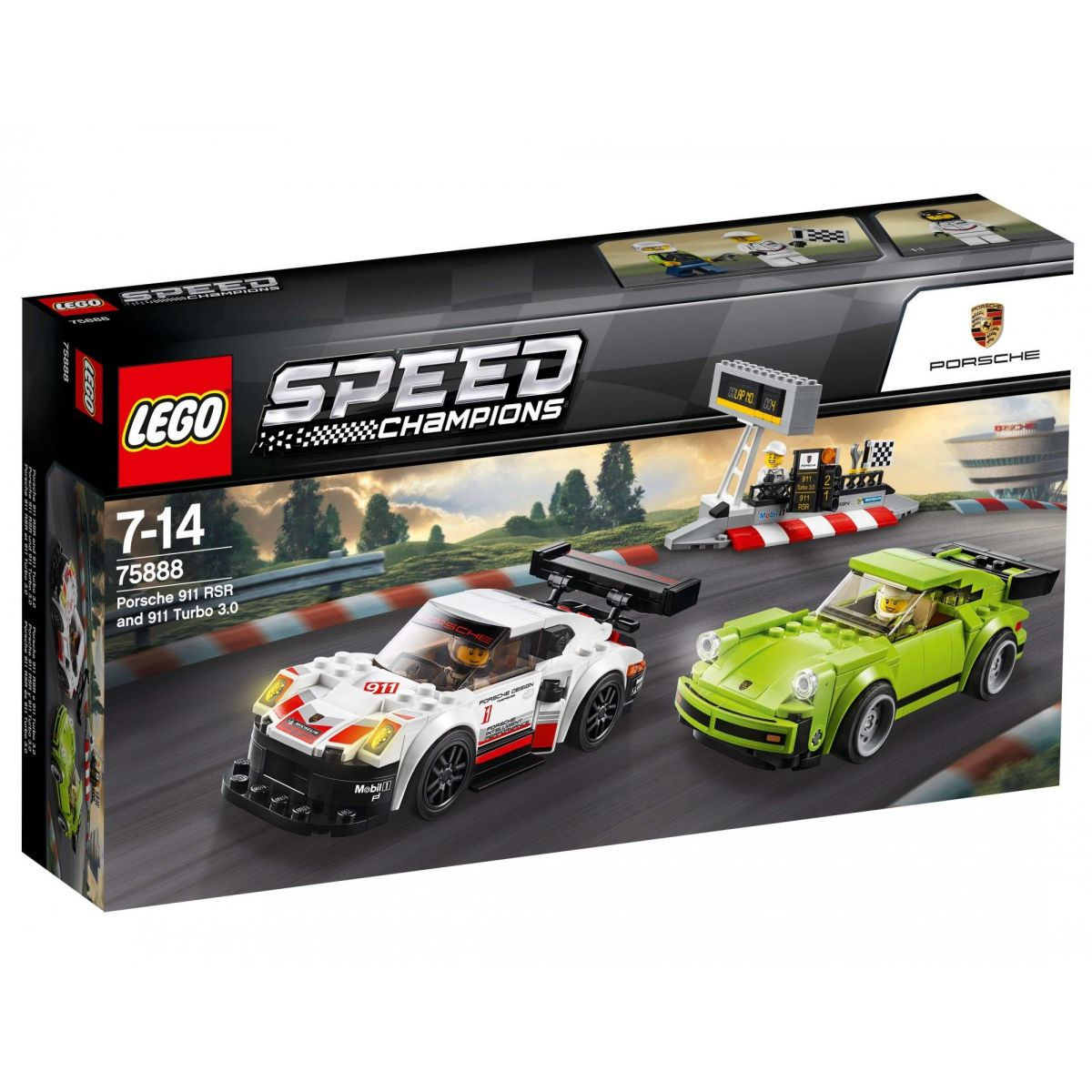 LEGO Speed Champions 75888 Porsche 911 RSR a 911 Turbo