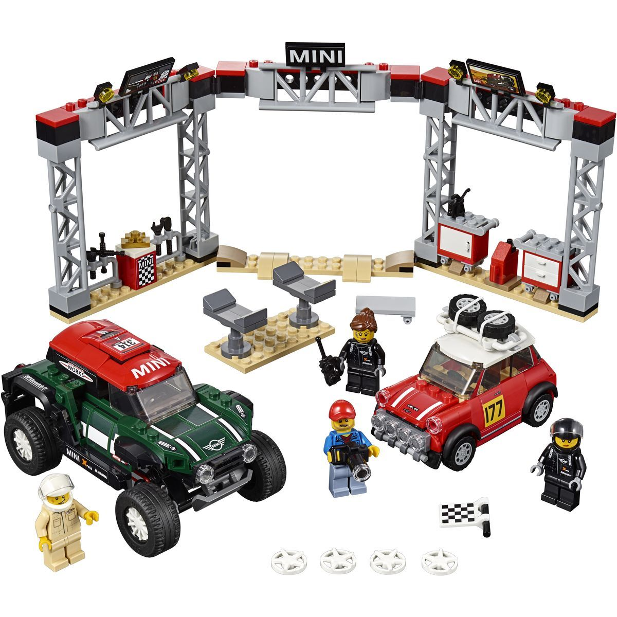 LEGO Speed Champions 75894 1967 Mini Cooper S Rally a 2018 MINI Jo