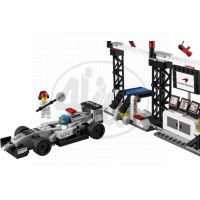 LEGO Speed Champions 75911 Zastávka v boxech pro McLaren Mercedes 4