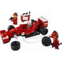 LEGO Speed Champions 75913 - Kamión pro vůz F14 T týmu Scuderia Ferrari 3