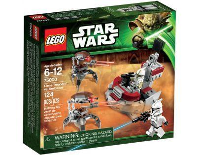 LEGO STAR WARS 75000 Clone Trooper™ vs. Droidekas™