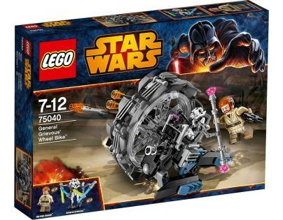 LEGO Star Wars™ 75040 - General Grievous' Wheel Bike™ (Motorka generála Grievouse)