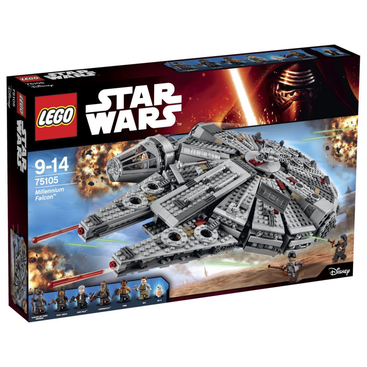 LEGO Star Wars 75105 Millennium Falcon - Poškozený obal