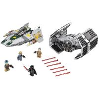 LEGO Star Wars 75150 Vader's TIE Advanced vs. A-Wing Starfighter 2