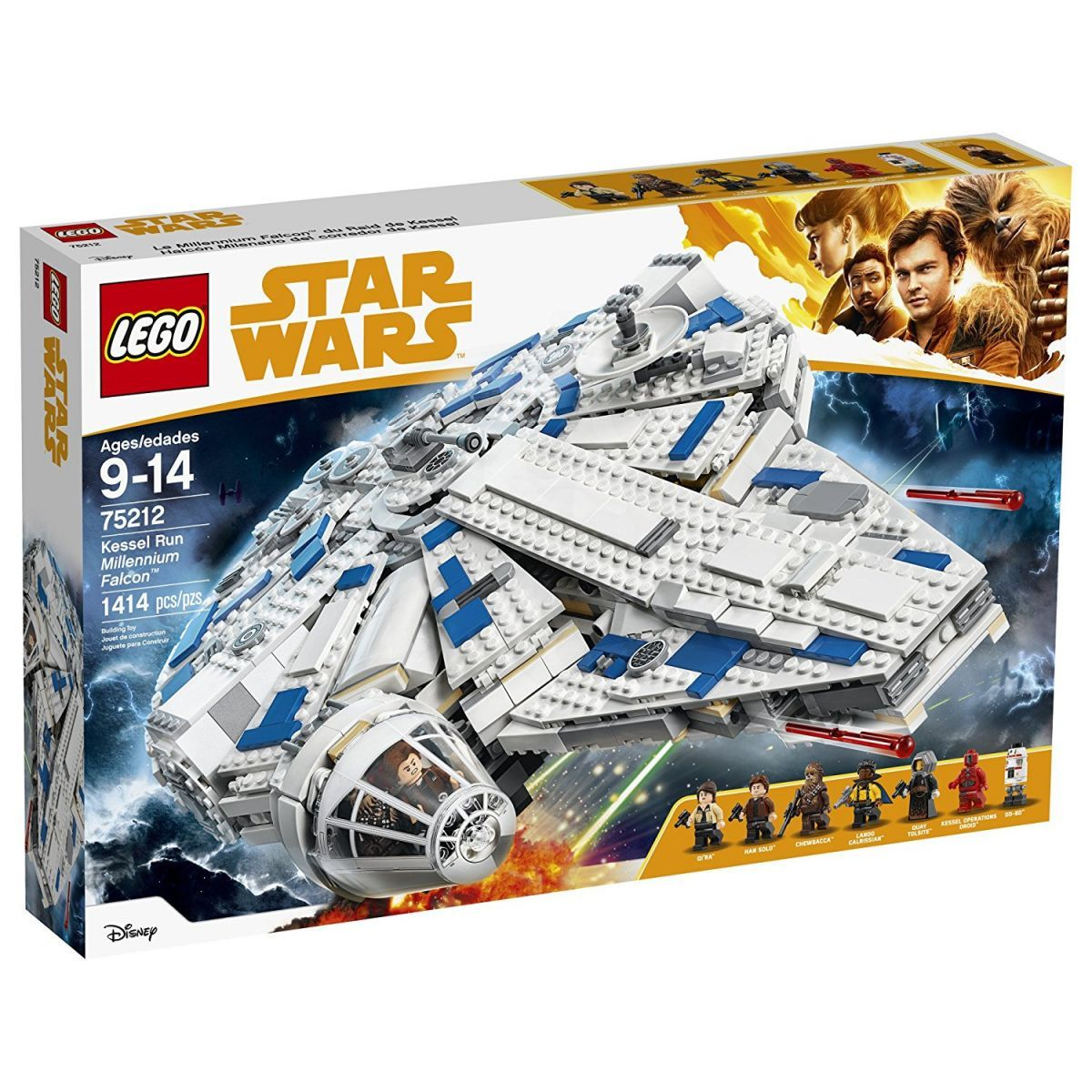 LEGO Star Wars 75212 Kessel Run Milennium Falcon