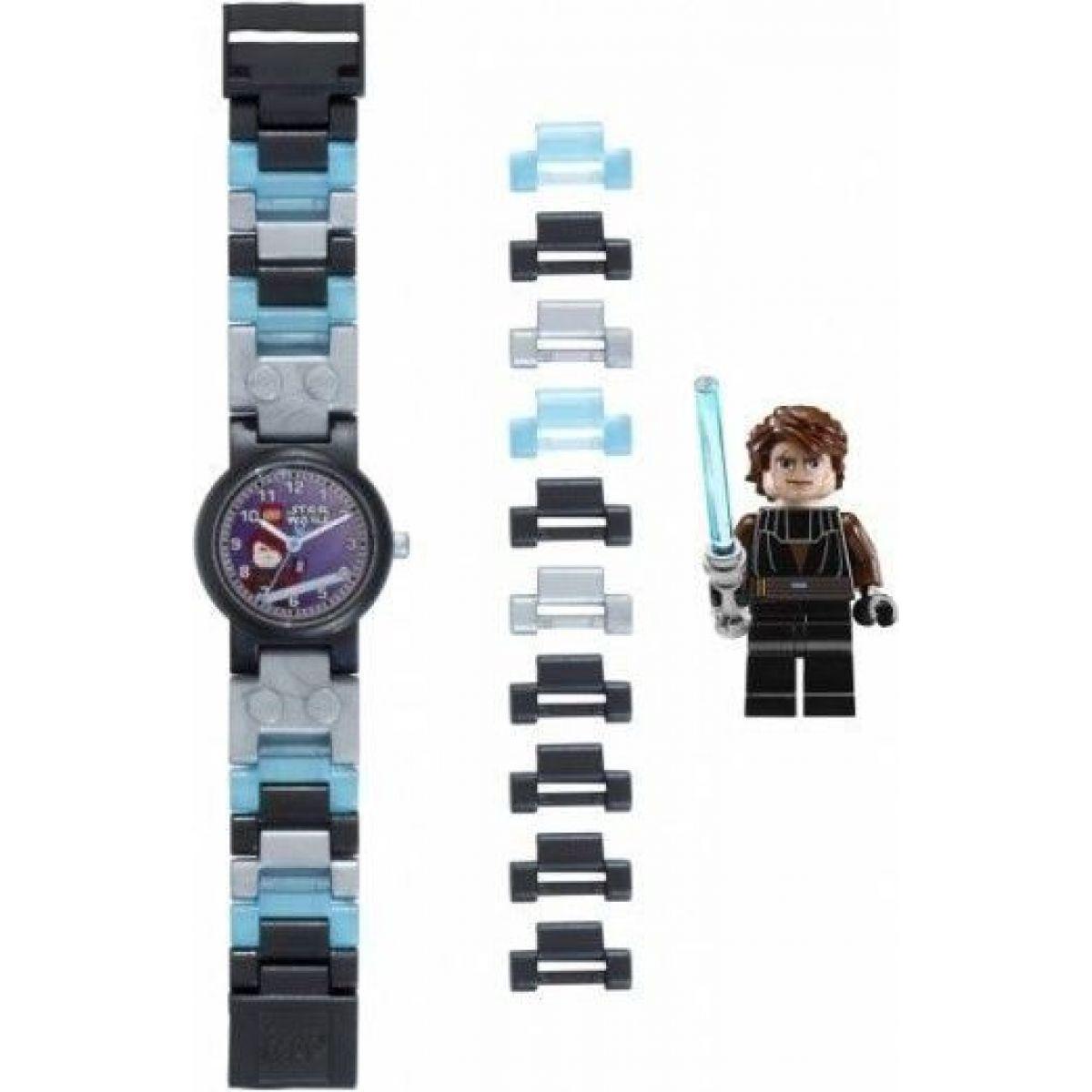 LEGO Star Wars Anakin Hodinky s minifigurkou