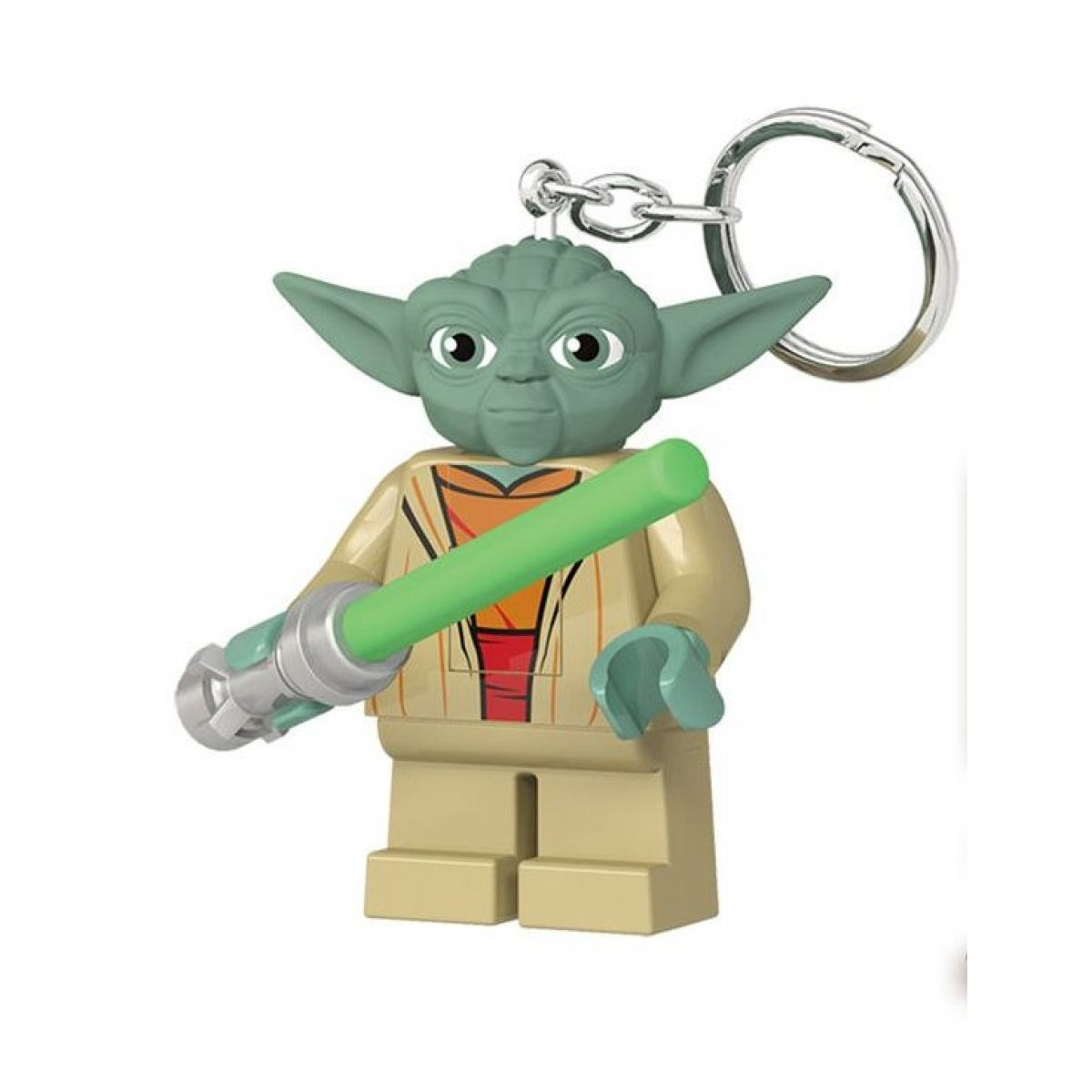 LEGO Star Wars Yoda se světelným mečem svítící figurka