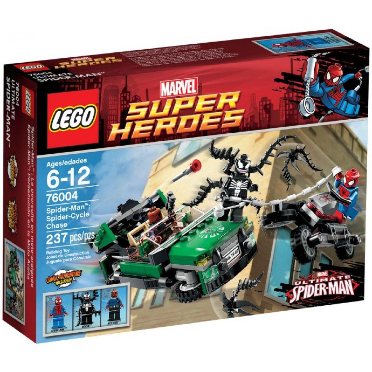 LEGO Super Heroes 76004 - Spider-Man™: Honička na motorce