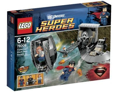 LEGO Super Heroes 76009 - Superman™: Únik z Black Zero