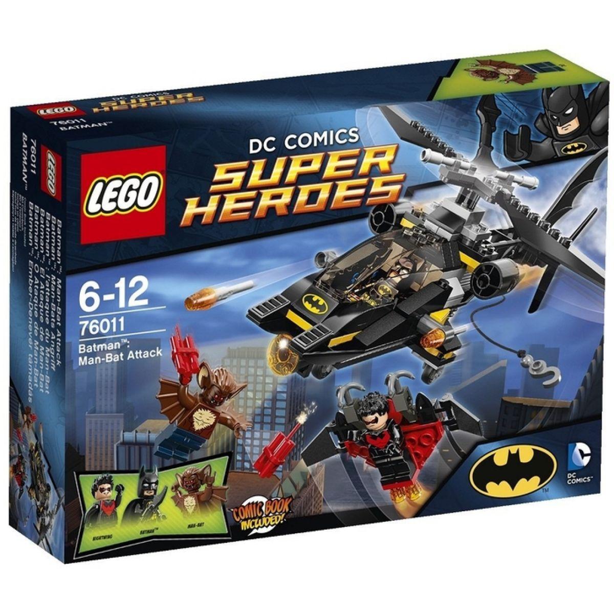 LEGO Super Heroes 76011 - Batman™: Útok Man-Bata