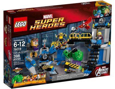 LEGO Super Heroes 76018 - Hulk™ Rozbití laboratoře