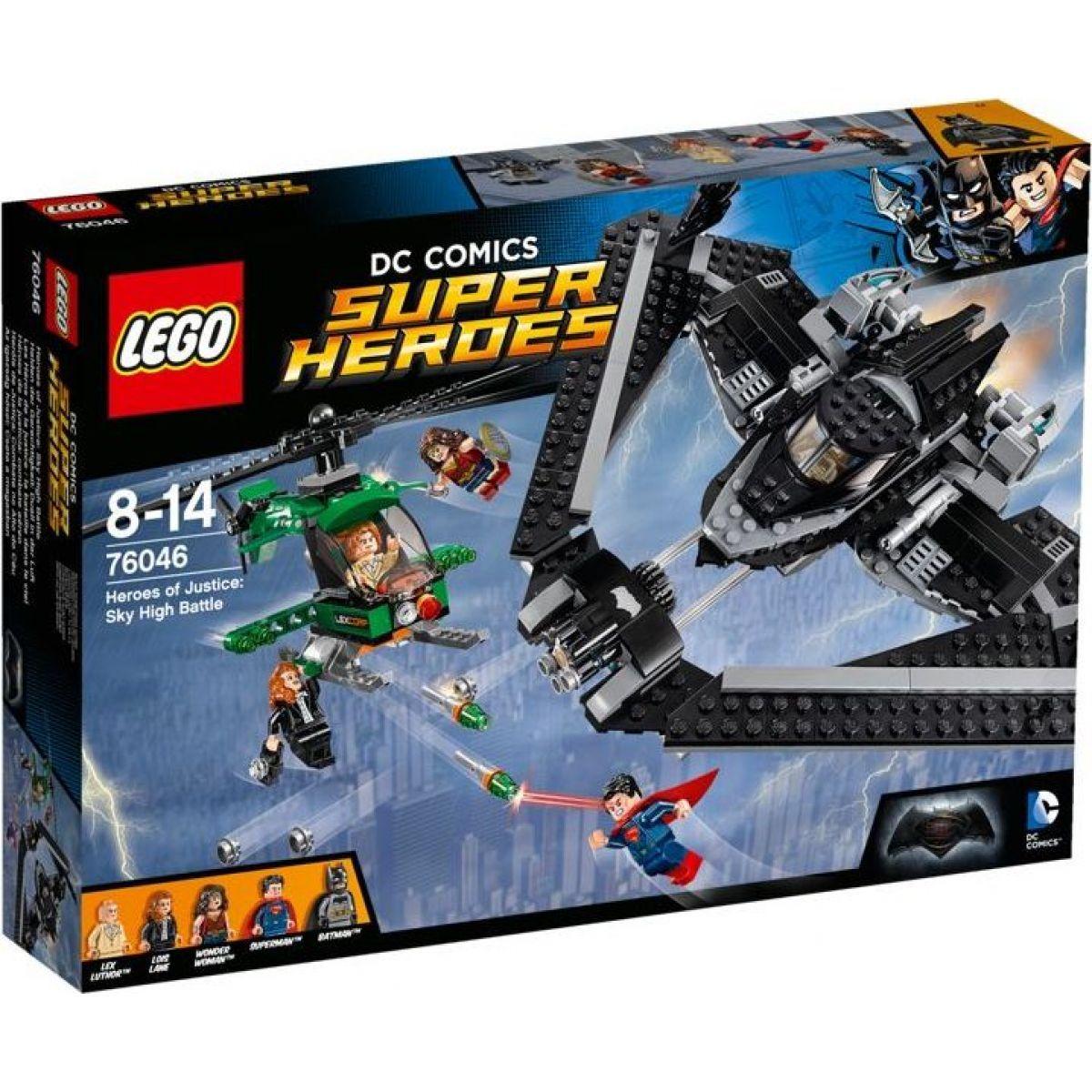 LEGO Super Heroes 76046 Hrdinové spravedlnosti Souboj vysoko v oblacích