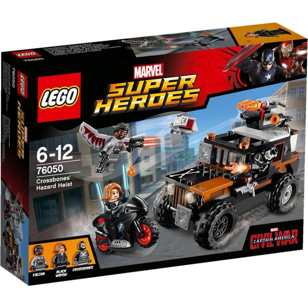 LEGO Super Heroes 76050 Confidential Captain America Movie 1