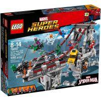 LEGO Super Heroes 76057 Spiderman Úžasný souboj pavoučích válečníků na mostě