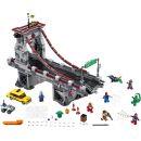 LEGO Super Heroes 76057 Spiderman Úžasný souboj pavoučích válečníků na mostě 2