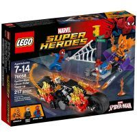 LEGO Super Heroes 76058 Spiderman Ghost Rider vstupuje do týmu