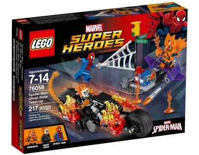 LEGO Super Heroes 76058 Spiderman Ghost Rider vstupuje do týmu