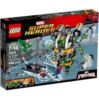 LEGO Super Heroes 76059 Spiderman Past z chapadel doktora Ocka
