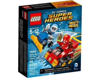 LEGO Super Heroes 76063 Mighty Micros Flash vs. Kapitán Cold