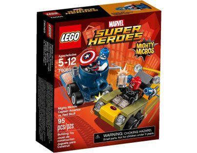 LEGO Super Heroes 76065 Mighty Micros Kapitán America vs. Red Skull