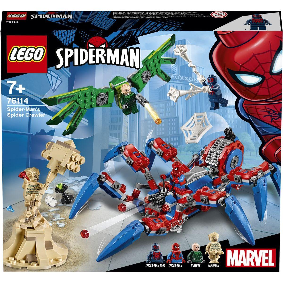LEGO Super Heroes 76114 Spiderman pavoukolez LEGO