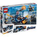 LEGO Super Heroes 76123 Captain America: útok Outriderů  2