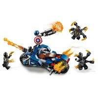 LEGO Super Heroes 76123 Captain America: útok Outriderů  4