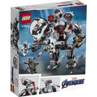 Lego Super Heroes 76124 War Machine v robotickém obleku 4