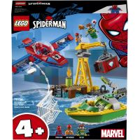 LEGO Super Heroes 76134 Spiderman Doc Ock a loupež diamantů